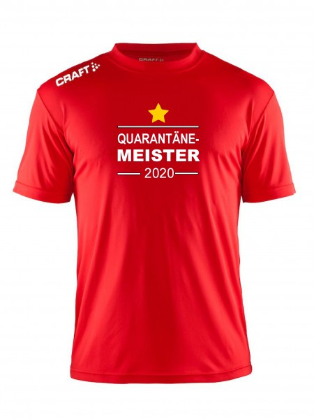 "Craft Meister -Shirt "" QUARANTÄNE MEISTER 2020 "" in 5 Farben"