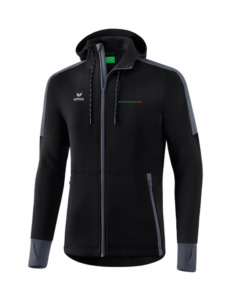 Erima SOFTSHELLJACKE mit Kapuze Wost-Racing-Team