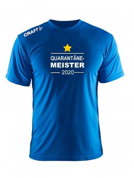 """Craft Meister -Shirt """" QUARANTÄNE MEISTER 2020 """" in 5 Farben"""