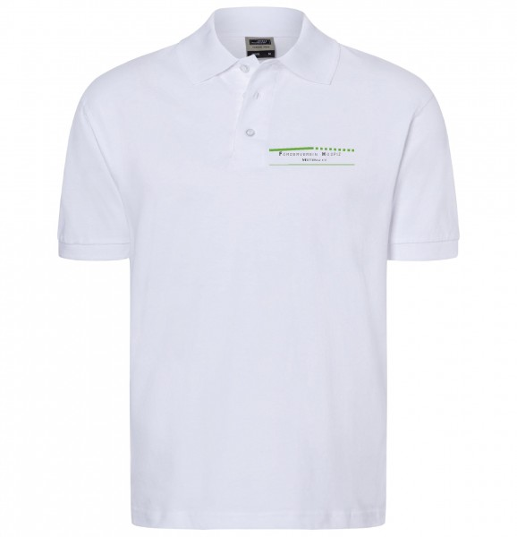 Herren Polo-Shirt Förderverein Hospiz Wetterau