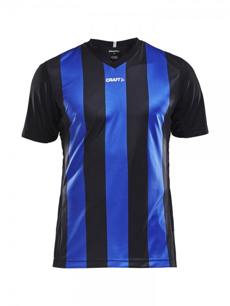PROGRESS Jersey Stripe Men black/club cobolt - 0
