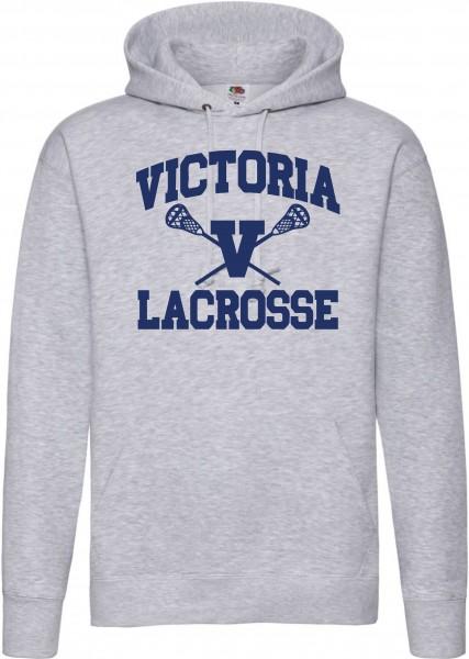 Hooded Sweatshirt Lacrosse Berlin mit Spielername 4a